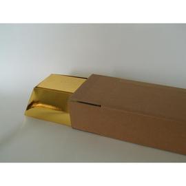Versandkarton Geschenkverpackung braun 74x340mm / Art. 1611210 Produktbild