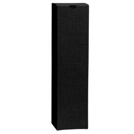 Geschenkkarton Scala schwarz 90 x 90 x 360mm / Für 1 Flasche Produktbild