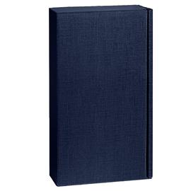 Geschenkkarton Scala dunkelblau 180 x 90 x 360mm / Für 2 Flaschen Produktbild