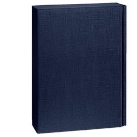 Geschenkkarton Scala dunkelblau 270 x 90 x 360mm / Für 3 Flaschen Produktbild