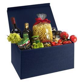Geschenkkarton Scala dunkelblau 380 x 260 x 195mm / Für 6 Flaschen Produktbild