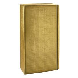 Geschenkkarton Scala gold matt 180 x 90 x 360mm / Für 2 Flaschen Produktbild