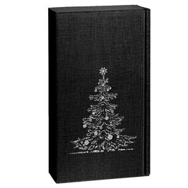 Geschenkkarton Scala schwarz 180 x 90 x 360mm / Für 2 Flaschen Produktbild