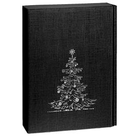 Geschenkkarton Scala schwarz 270 x 90 x 360mm / Für 3 Flaschen Produktbild