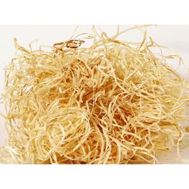 Holzwolle Fichte natur 2mm / 10kg/Sack (SACK=10 KILOGRAMM) Produktbild
