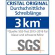 Kugelschreiber Cristal Medium 0,4mm mittel blau Bic 8373609 Produktbild Additional View 8 S
