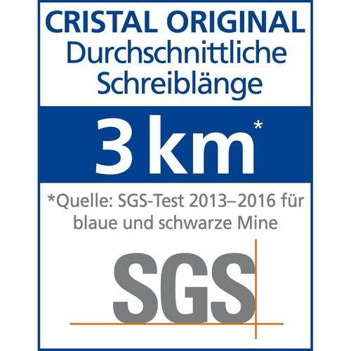 Kugelschreiber Cristal Medium 0,4mm mittel blau Bic 8373609 Produktbild Additional View 8 L