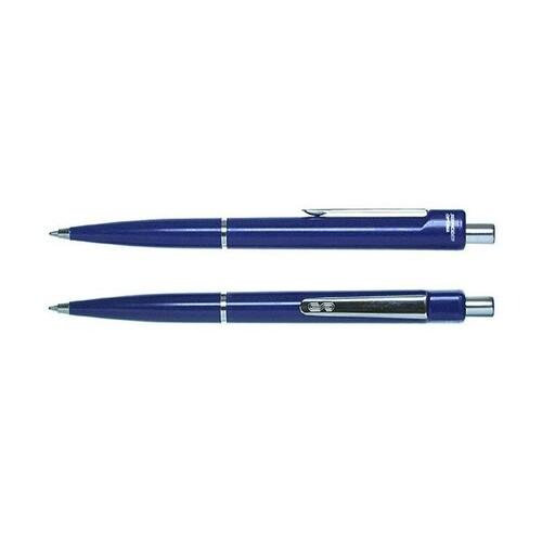 Kugelschreiber Optima M 1,0mm mittel blau/blau Schneider 3403 Produktbild Front View L