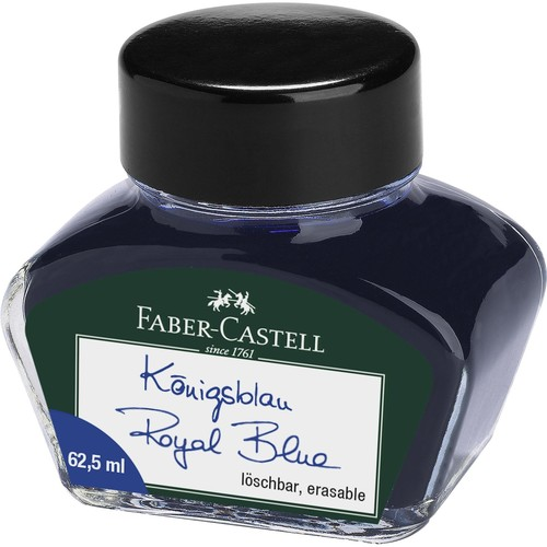 Tinte im Glas 62,5ml royalblau Faber-Castell 148701 Produktbild Front View L