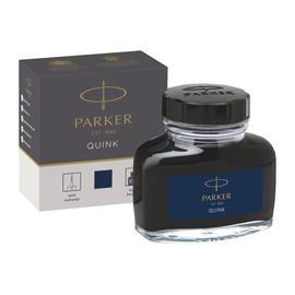 Tinte im Glas QUINK Z45 57ml permanent schwarz/blau Parker 1950378 Produktbild