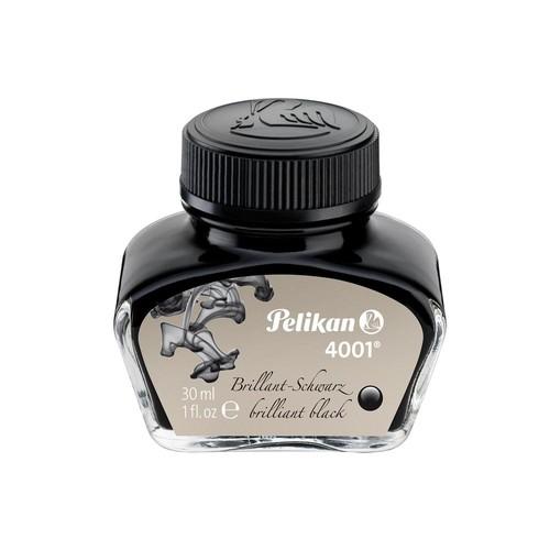 Tinte im Glas 30ml 4001 schwarz Pelikan 301051 (GL=30 MILLILITER) Produktbild Front View L