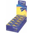Tintenpatronen kurz für Füllhalter 4001 TP/6 königsblau löschbar  Pelikan 301176 (ETUI=6 STÜCK) Produktbild