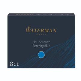 Tintenpatrone Standard für Füllhalter Serenity blue Waterman S0110860 (PACK=8 STÜCK) Produktbild