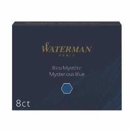 Tintenpatrone Standard für Füllhalter Mysterious blue Waterman S0110910 (PACK=8 STÜCK) Produktbild