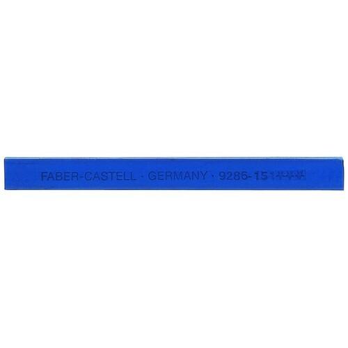 Pastellkreide POLYCHROMOS 9286-151 helioblau rötlich Faber Castell 128651 Produktbild Front View L