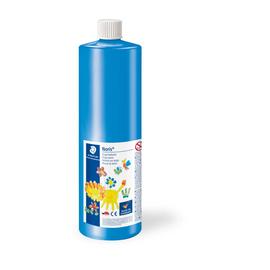 Fingermalfarbe Noris Club Mali 750ml blau schnelltrocknend auswaschbar Staedtler 8811-3D Produktbild