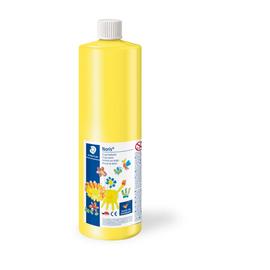 Fingermalfarbe Noris Club Mali 750ml gelb schnelltrocknend auswaschbar Staedtler 8811-1D Produktbild