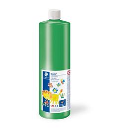 Fingermalfarbe Noris Club Mali 750ml grün schnelltrocknend auswaschbar Staedtler 8811-5D Produktbild
