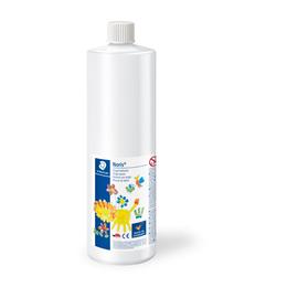 Fingermalfarbe Noris Club Mali 750ml weiß schnelltrocknend auswaschbar Staedtler 8811-0D Produktbild