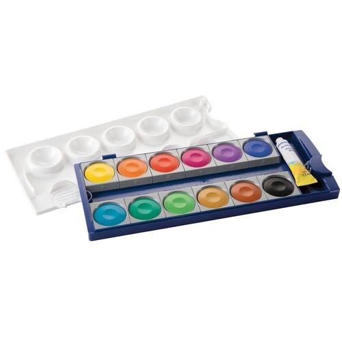 Malkasten Standard 735K/12 12 Farben ohne Wasserbox Pelikan 720250 Produktbild Additional View 3 L