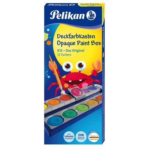 Malkasten Standard 735K/12 12 Farben ohne Wasserbox Pelikan 720250 Produktbild Additional View 4 L