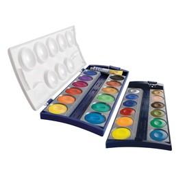Malkasten Standard 735K/24 24 Farben ohne Wasserbecher Pelikan 720631 Produktbild