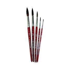 Haarpinsel Größe 9 braun lackiert Milan 310-9 Produktbild
