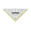 Geodreieck mit abnehmbarem Griff groß 22cm transparent Milan 562 Produktbild Additional View 1 S
