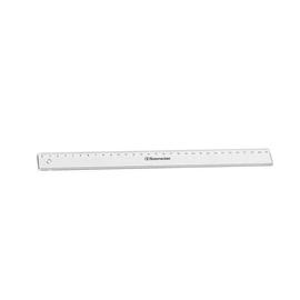 Lineal 30cm transparent Kunststoff BestStandard 1821 Produktbild