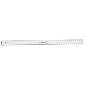Lineal 40cm transparent Kunststoff BestStandard 1822 Produktbild