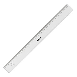 Lineal LN40 40cm transparent Kunststoff Laco 2616020000 Produktbild