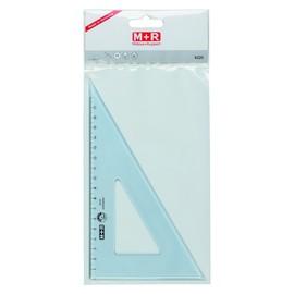 Zeichendreieck 23cm 60° transparent M+R 762200020 Produktbild