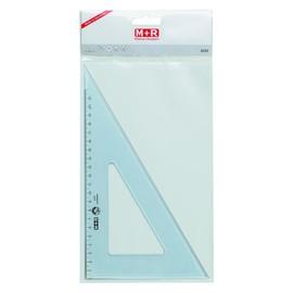 Zeichendreieck 29cm 60° transparent M+R 762250020 Produktbild