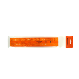 Schriftschablone gerade Mittelschrift Schrifthöhe 5,0mm Standardgraph 2522/5 Produktbild