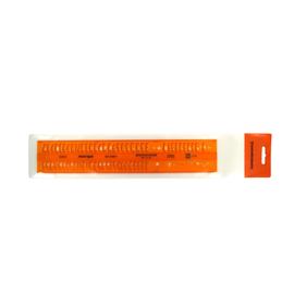 Schriftschablone Isonorm gerade Mittelschrift Schrifthöhe 5,0mm Standardgraph 2524/5 Produktbild