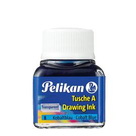 Zeichen-Tusche Glas mit Pose 10ml kobaltblau 8 Pelikan 201574 (GL=10 MILLILITER) Produktbild