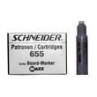 Whiteboardmarker-Nachfüllpatrone 655 für Maxx Eco 110 schwarz Schneider 165501 (PACK=3 STÜCK) Produktbild