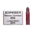 Whiteboardmarker-Nachfüllpatrone 655 für Maxx Eco 110 rot Schneider 165502 (PACK=3 STÜCK) Produktbild