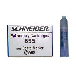 Whiteboardmarker-Nachfüllpatrone 655 für Maxx Eco 110 blau Schneider 165503 (PACK=3 STÜCK) Produktbild