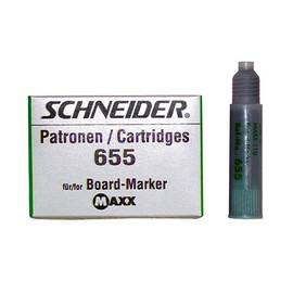 Whiteboardmarker-Nachfüllpatrone 655 für Maxx Eco 110 grün Schneider 165504 (PACK=3 STÜCK) Produktbild