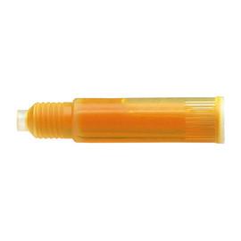 Textmarker-Nachfüllpatronen Maxx 666 1-4,5mm Keilspitze orange Schneider 6666 (PACK=3 STÜCK) Produktbild