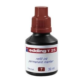 Permanentmarker-Nachfülltusche T25 30ml braun Edding 4-T25007 (ST=30 MILLILITER) Produktbild