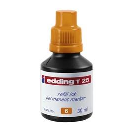 Permanentmarker-Nachfülltusche T25 30ml orange Edding 4-T25006 (ST=30 MILLILITER) Produktbild