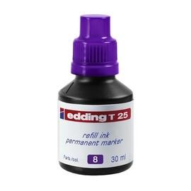 Permanentmarker-Nachfülltusche T25 30ml violett Edding 4-T25008 (ST=30 MILLILITER) Produktbild