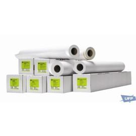 Plotterpapier für Farblinen + Vollfarbe 91,4cm x 45,7m 131g weiß HP 51631E Produktbild