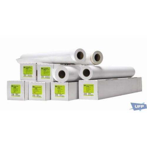 Plotterpapier für Farblinen + Vollfarbe 91,4cm x 45,7m 131g weiß HP 51631E Produktbild Front View L