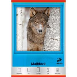Malblock A4 100Blatt holzfrei 44342 Produktbild