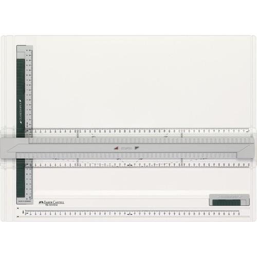 Zeichenplatte TK-SYSTEM A3 weiß/grün Faber Castell 171273 Produktbild Front View L