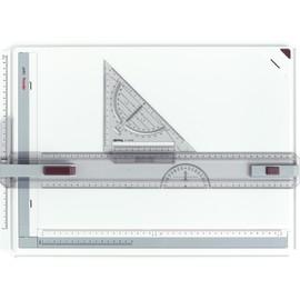Zeichenplatte Rapid A3 weiß/rot Rotring S0213910 Produktbild