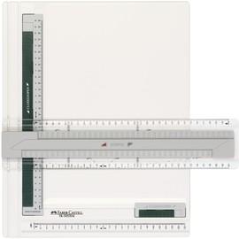Zeichenplatte TK-SYSTEM A4 weiß/grün Faber Castell 171274 Produktbild